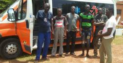 Missionland regala un'ambulanza all'ospedale di Ouagadugou in Burkina Faso
