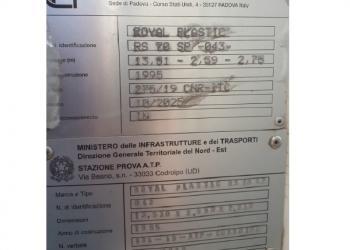 Semirimorchio isotermico ZORZI 37S136