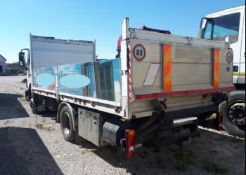 NISSAN ATLEON 80.19 euro 5 cassone aperto con gancio di traino