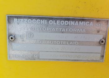 Cestello / piattaforma aerea Iveco 80E15, 12 mt