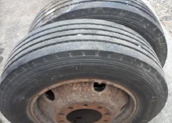 245/70 r19.5 truck tires, 2 pieces almost new