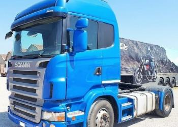 Scania R480 Euro 4 automatic tractor year 2007