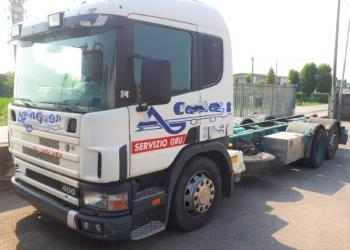 SCANIA R 124 400 A CHASSIS YEAR 1999