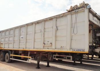 RSU compactor, 2-axle trailer, construtcion vehicle