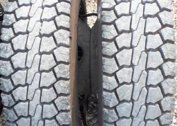 6 Pirelli tires 315/75 r 17.5, semi-new