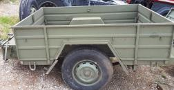 Military trailer ex army chariot