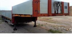 Cardi gooseneck trailer 13.80 mt. twist-lock