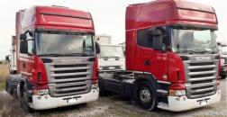 Scania R 500 tractor, year 2007, euro 4