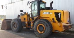 JCB 456 wheel loader, year 2010, 16,000 hours