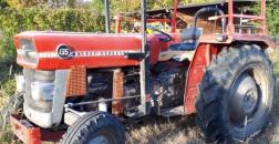 MASSEY FERGUSON MF135 RUBBER TRACTOR, YEAR 1976