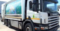 Scania P 114 compactor truck